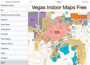 caesars palace casino map