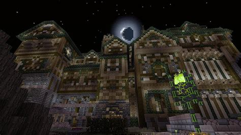 spooky minecraft haunted houses  towns minecraft
