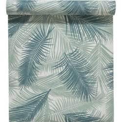 Papier Peint Feuillage Vert by Papier Peint Intiss 233 Feuille De Palme Vert Leroy Merlin