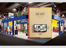 Brooks Sports The playful exhibit for Brooks Sports by