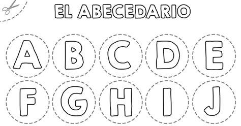 abecedario para colorear y recortar recurso educativo 724691 tiching
