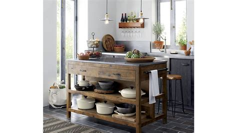 crate and barrel kitchen island bluestone reclaimed wood large kitchen island crate and 8487
