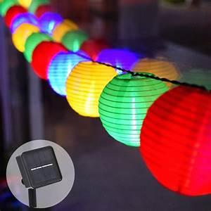 20, Led, Solar, String, Lights, Christmas, Solar, Powered, Fairy, Light, Decorative, Lantern, Lighting, For