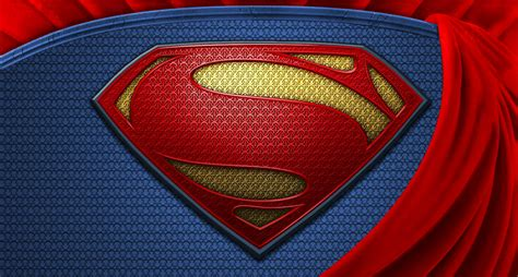 Superman (Man Of Steel) Wallpaper Logo HD by Super ...