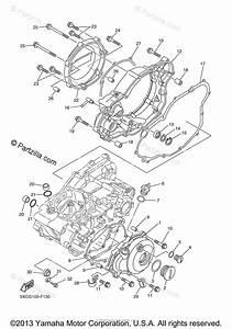 Yamaha Motorcycle 2008 Oem Parts Diagram For Crankcase