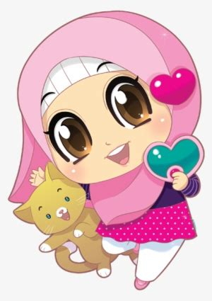 serie  ana muslimah cute wallpaper