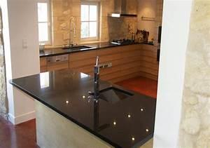 Plan De Travail Granit : plan de travail moderne ~ Dailycaller-alerts.com Idées de Décoration