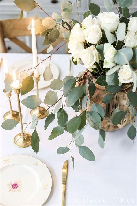 simple elegant easter tablescape flowers home decor decor tablescapes