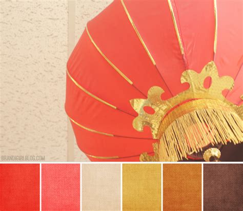 color palette 127 chinese lantern color palettes and