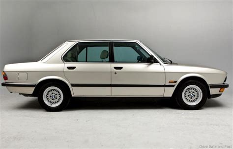 bmw e28 5 series used car review drive safe and fast