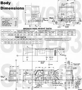 1976 Ford Bronco Tech Diagrams Picture Supermotors