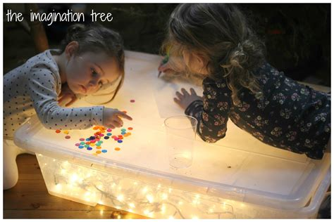 diy light box for sensory play the imagination tree