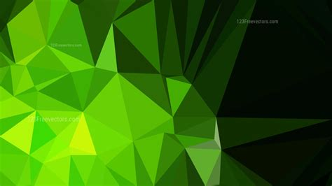 green  poly background design