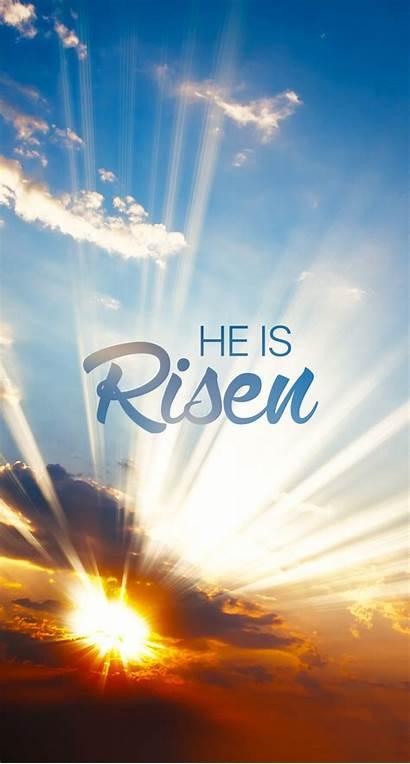 Easter Risen Jesus Christian Wallpapers Iphone He