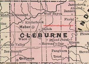 Transportation in Cleburne County, Arkansas