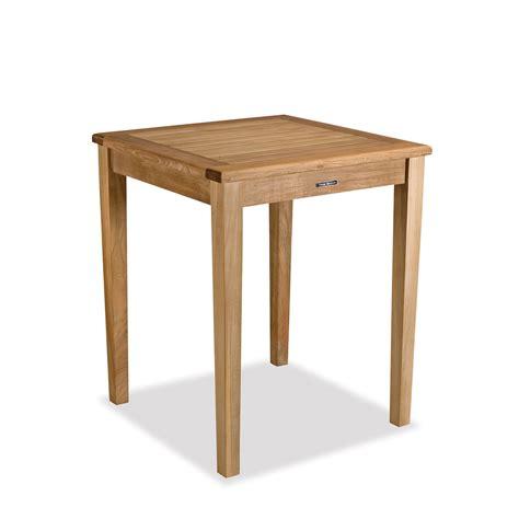 Small Teak Gathering Table Counter Height Bainbridge