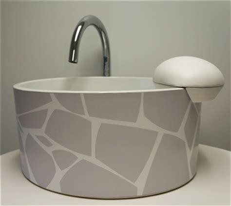 natura pedicure sink mode motif collection