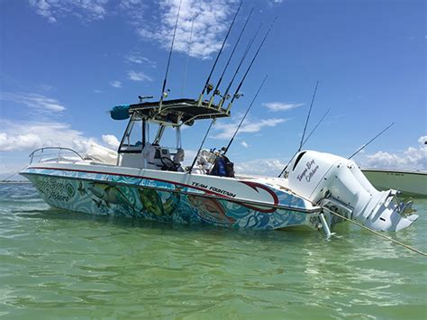 tampa bay offshore fishing  boat