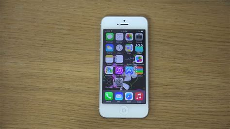 Maße Iphone 5 by Iphone 5 Ios 8 Review 4k