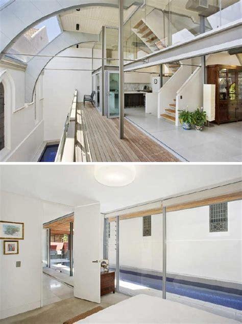 Sold in Sydney: Refab Church Turned Modern Home   Pool