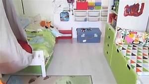 Chambre 9m2 Ikea : relooking d 39 une chambre d 39 enfants youtube ~ Melissatoandfro.com Idées de Décoration