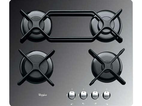 conforama plaques de cuisson table de cuisson gaz 4 foyers whirlpool akt4000mr whirlpool vente de plaque de cuisson