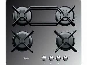 Plaque De Cuisson Gaz Conforama : table de cuisson gaz 4 foyers whirlpool akt4000mr ~ Melissatoandfro.com Idées de Décoration