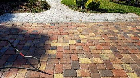 pavers turning white tampa tile cleaning