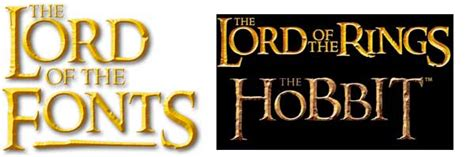 Lord of the Rings Hobbit Font