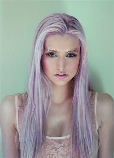 Trend Watch Purple Hair Tribe Magazinetribe Magazine