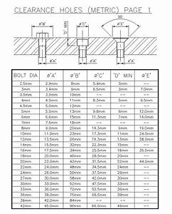 National Pipe Thread Drill Size Chart Clearance Hole Chart Gallery Of Chart 2019