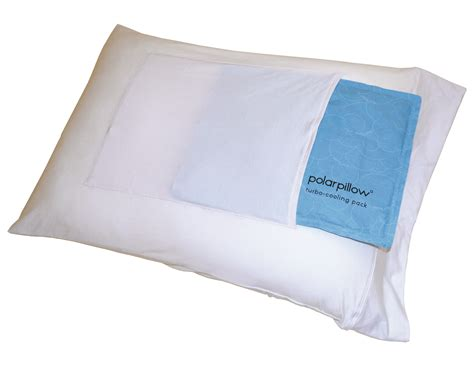 pillow that stays cool polar pillow polar pillowcase with turbo cooling pack