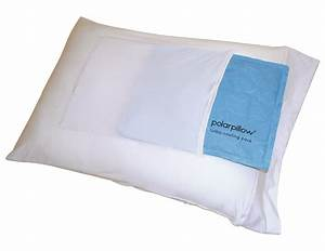 polar pillow polar pillowcase with turbo cooling pack With cool nights pillow