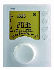 Delta Dore Tybox 117 : thermostat programmable filaire 1 zone tybox delta dore ~ Melissatoandfro.com Idées de Décoration