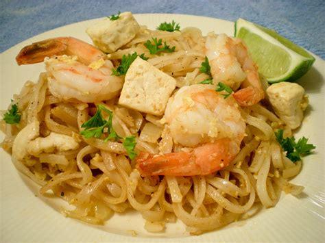 cuisine thaï shrimp pad recipes dishmaps