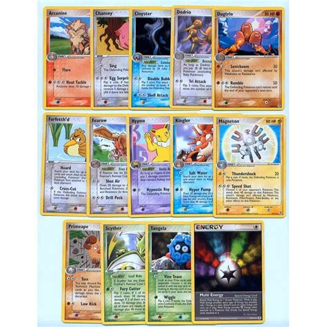 information on the pokemon cards dictates the outcome of