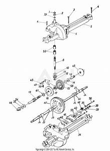 Mtd 13a4660f131  1998  Parts Diagram For Transmission Assembly 618