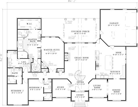 brick home floor plans leroux brick ranch home plan 055s 0046 house plans and more