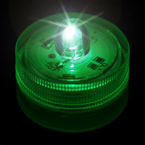 led submersible lights green submersible led light