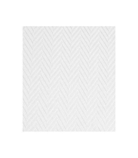 Rideau De En Tissu Rideau De En Tissu Blanc Chevrons Brillant