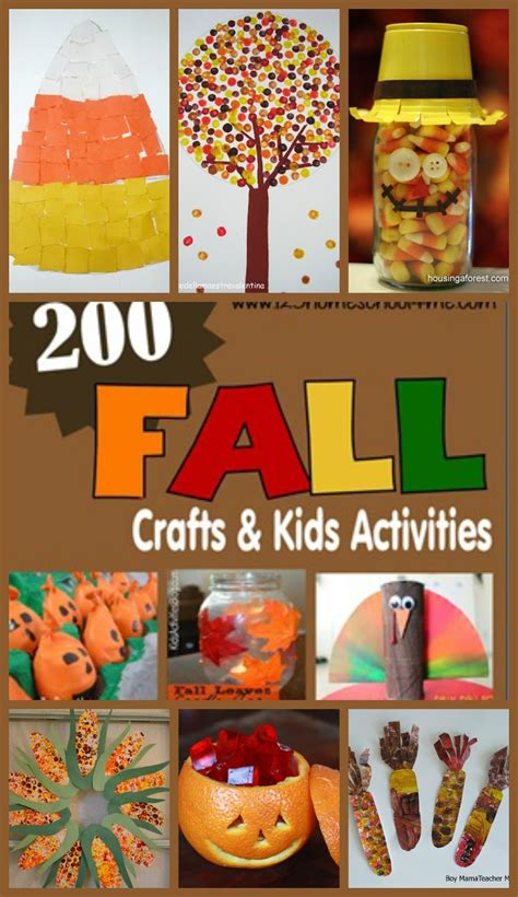 200 fall crafts activities printables and snack ideas 543 | 200%2Bfall%2Bcrafts%2Band%2Bkids%2Bactivities