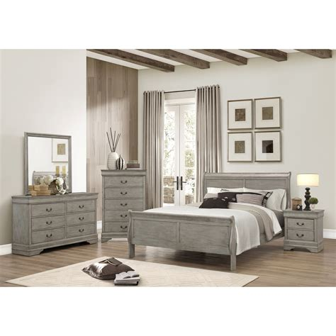 crown bedroom set crown louis phillipe bedroom wayside