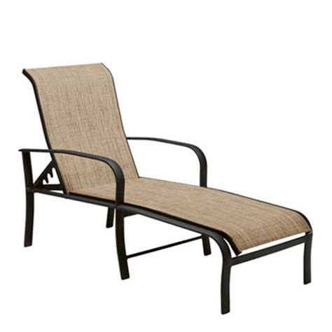 woodard 2ph470 fremont sling adjustable chaise lounge