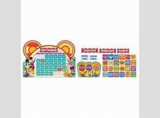 Mickey Mouse Clubhouse Calendar Set Bulletin Board Set
