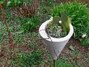 Windräder Für Den Garten : fr hlingsdeko aus beton f r den garten basteln und dekorieren ~ Indierocktalk.com Haus und Dekorationen