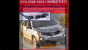 Fog Light Install Kit Wiring Harness Kit For 2010