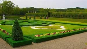 Outstanding green garden HD wallpaper