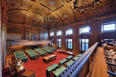 Vergaderzaal Van De Eerste Kamer