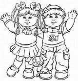 Cabbage Coloring Patch Pages Colouring Dolls Printable Kid Children Boy Printables Child Childrens sketch template