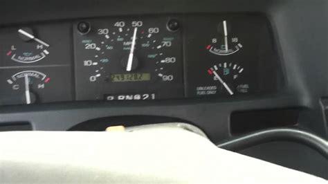 transmission control 1994 ford aerostar interior lighting 1997 ford aerostar xlt van 0 60 youtube